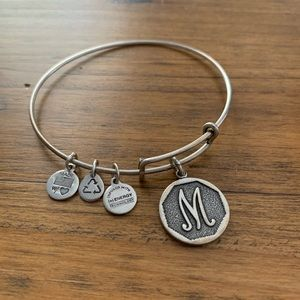 M Initial Alex and Ani